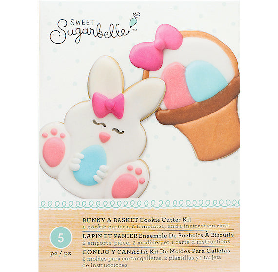 Sweet Sugarbelle Easter Cookie Cutter Set, Easter Bunny Cookie ...
