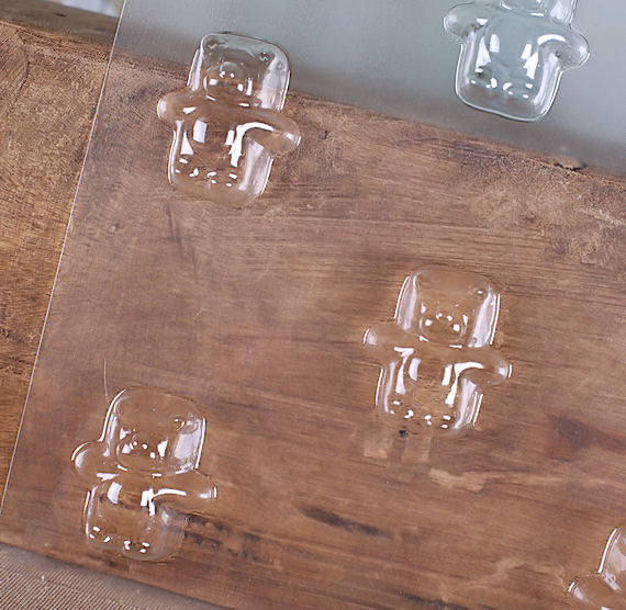 Gummy Bear Chocolate Mold | www.bakerspartyshop.com