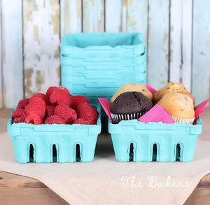 Berry Baskets with Lids: Half Pint | www.bakerspartyshop.com