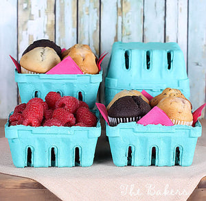 Berry Baskets: Half Pint | www.bakerspartyshop.com