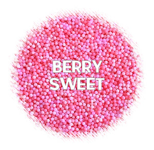 Berry Sweet Nonpareils Mix | www.bakerspartyshop.com