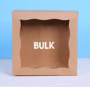 Bulk Small Brown Bakery Boxes: 6x6"