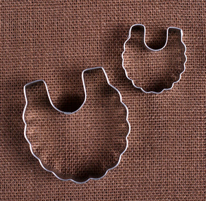 Baby Bib Cookie Cutter Set | www.bakerspartyshop.com