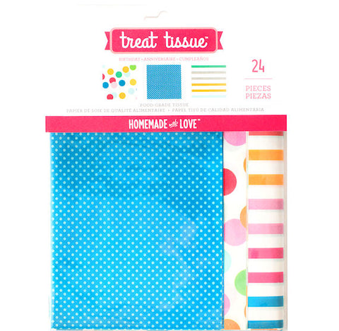 Birthday Treat Tissue Paper | www.bakerspartyshop.com
