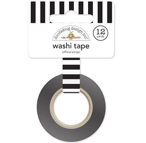 Black and White Stripe Washi Tape | www.bakerspartyshop.com