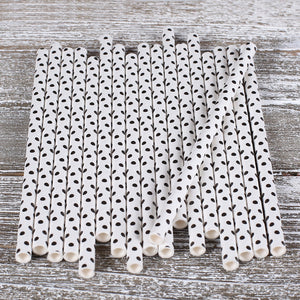 Black Cake Pop Sticks: Polka Dots | www.bakerspartyshop.com