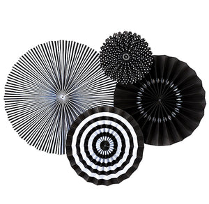Black Party Fans | www.bakerspartyshop.com