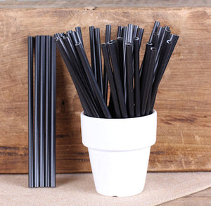 Black Lollipop Sticks: 4.5"