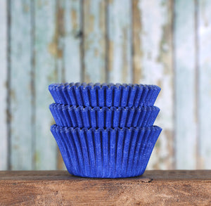Bulk Royal Blue Cupcake Liners: Solid | www.bakerspartyshop.com