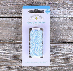 Doodlebug Light Blue Bakers Twine | www.bakerspartyshop.com