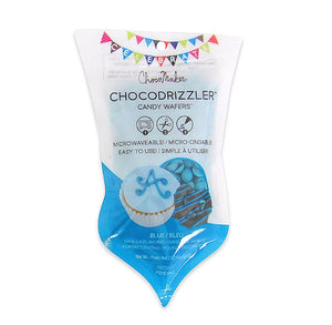 Chocodrizzler Mini Candy Wafers Pouch: Blue | www.bakerspartyshop.com