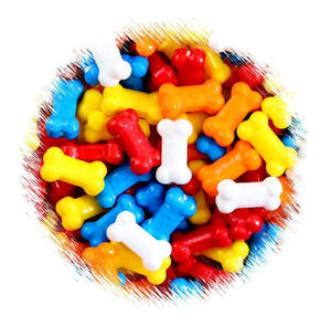 Dog Bone Candy Toppings | www.bakerspartyshop.com