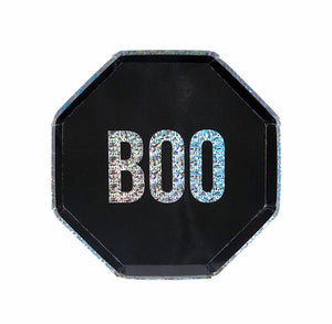 BOO Plates | www.bakerspartyshop.com