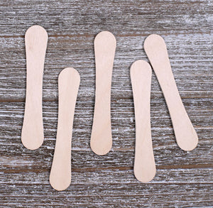 Bulk Small Wooden Ice Cream Sticks: 3.5"