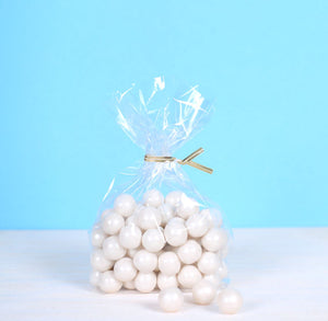 Small Gusseted Cellophane Bags | www.bakerspartyshop.com