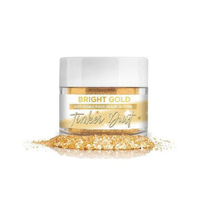 Tinker Dust Bright Gold Edible Glitter | www.bakerspartyshop.com