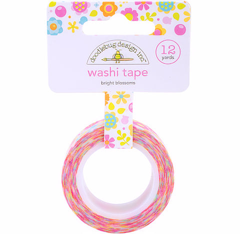 Bright Flowers Washi Tape | www.bakerspartyshop.com