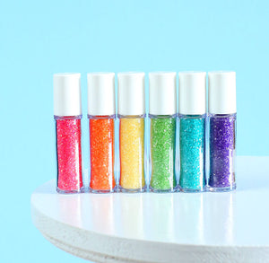 Mini Bright Rainbow Sprinkles Set: Sanding Sugar | www.bakerspartyshop.com