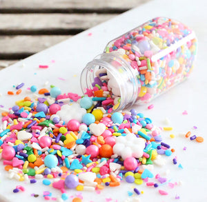 Sprinklefetti Bright Rainbow Sprinkle Mix | www.bakerspartyshop.com