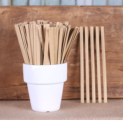 "Bulk Brown Paper Twist Ties (4"") 