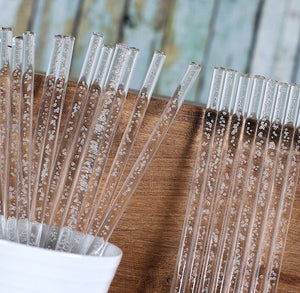 Bulk Clear Cake Pop Sticks: Champagne Bubble | www.bakerspartyshop.com