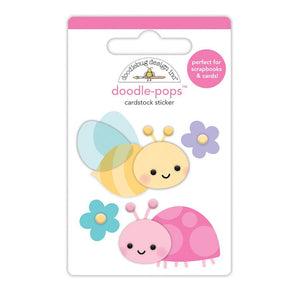 Doodle-Pops Ladybug + Bee Stickers | www.bakerspartyshop.com