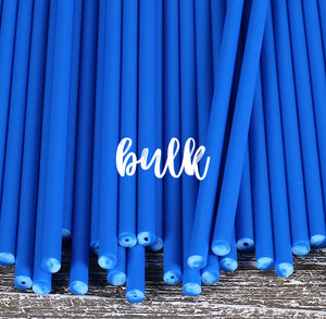 Bulk Blue Lollipop Sticks: 6"