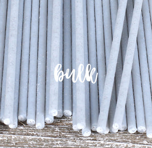Bulk Glitter Lollipop Sticks: 6"