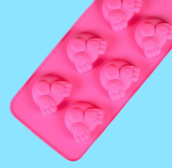 Bunny But Candy Mold Silicone Mold Bunny But Mold Bunny