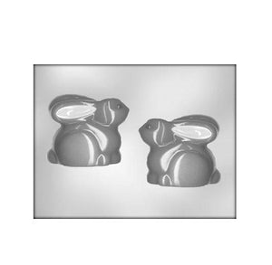 Sweet Bunny Chocolate Mold: 3.5"
