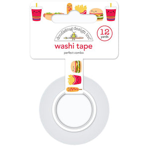 Perfect Combo Washi Tape: Fast Food | www.bakerspartyshop.com