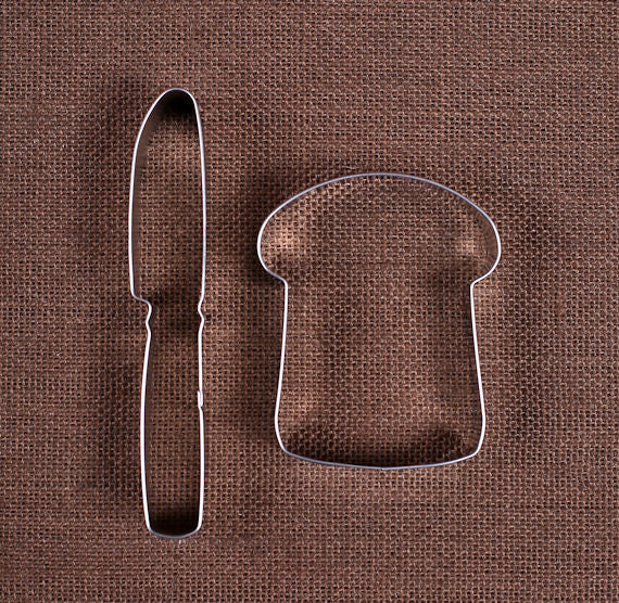 Slice of Bread Cookie Cutter Set | www.bakerspartyshop.com