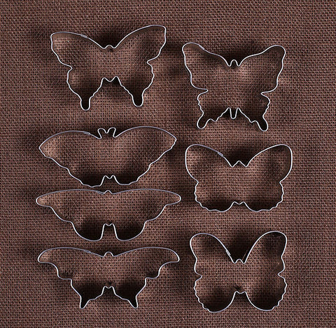 Butterfly Cookie Cutters: 7 Piec Set | www.bakerspartyshop.com