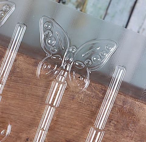 Butterfly Lollipop Mold | www.bakerspartyshop.com