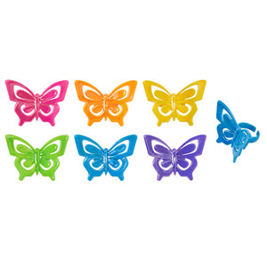 Butterfly Cupcake Topper Rings | www.bakerspartyshop.com
