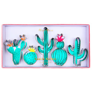 Cactus Cookie Cutters Set | www.bakerspartyshop.com