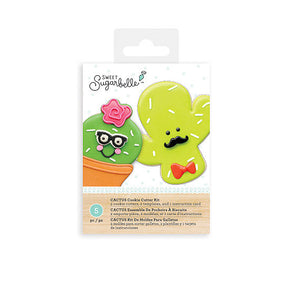 Sweet Sugarbelle Cactus Cookie Cutters Set | www.bakerspartyshop.com