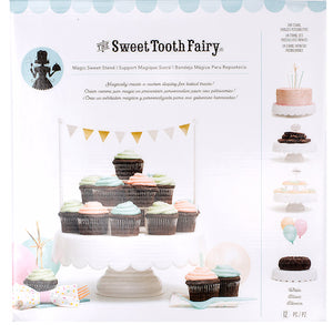Sweet Tooth Fairy Cake Stand: White | www.bakerspartyshop.com