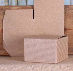 Small Kraft Brown Box: 3x3x2"