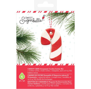 Sweet Sugarbelle Ornament Cookie Cutter Kit: Candy Cane | www.bakerspartyshop.com