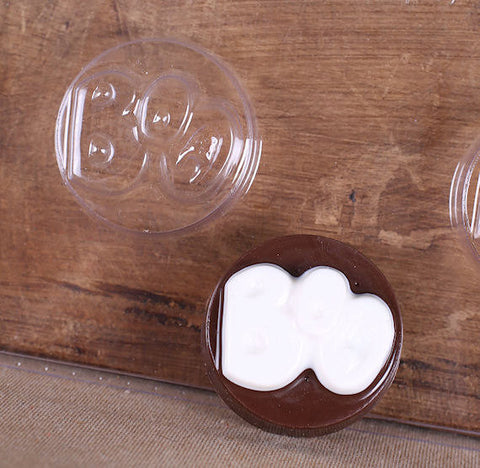 BOO Oreo Cookie Mold | www.bakerspartyshop.com