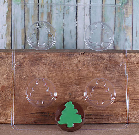 Christmas Tree Oreo Cookie Mold | www.bakerspartyshop.com