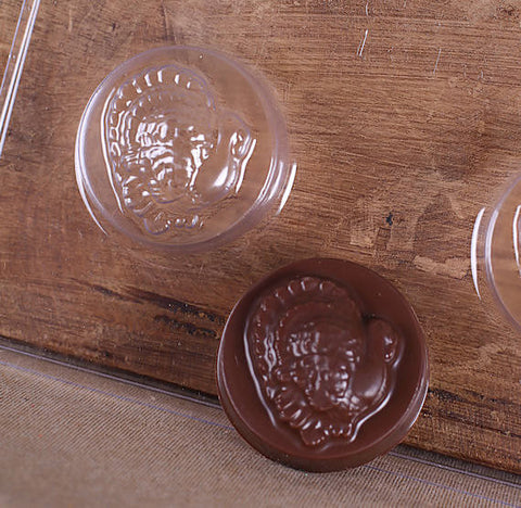 Turkey Oreo Cookie Mold | www.bakerspartyshop.com
