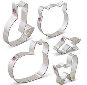 Cat Cookie Cutter Set | www.bakerspartyshop.com