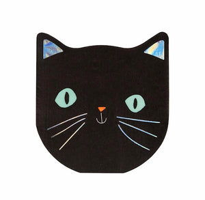 Black Cat Napkins | www.bakerspartyshop.com