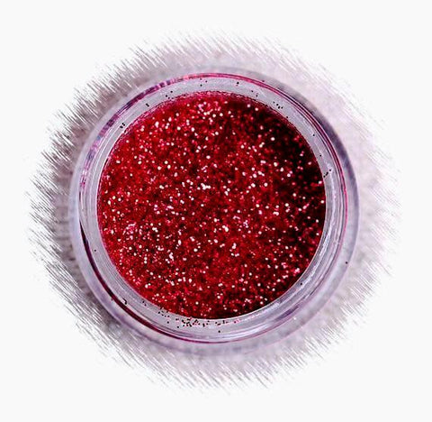 Cherry Red Disco Glitter | www.bakerspartyshop.com