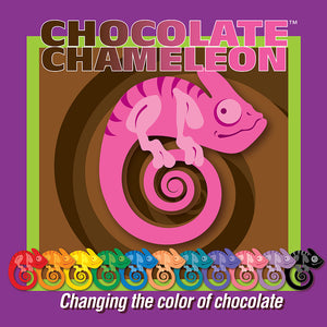 Chocolate Chameleon Green Candy Color | www.bakerspartyshop.com