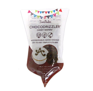 Chocodrizzler Mini Candy Wafers Pouch: Chocolate | www.bakerspartyshop.com