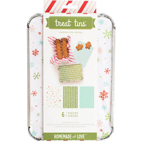 Large Christmas Treat Tins | www.bakerspartyshop.com