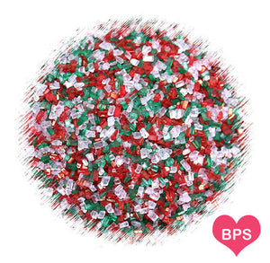 Classic Christmas Sparkling Sugar Mix | www.bakerspartyshop.com
